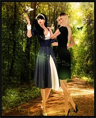 Les soeurs (Miss - Model - Blogger) Tags: design iraq digitalart manipulation baghdad ahmed alsamraee
