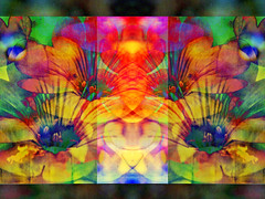 Fecundity (virtually_supine) Tags: flowers collage photomanipulation creative vividcolour textures montage layers abstraction digitalmanipulation blending hss floralabstraction pse9 photoshopelements9 sliderssundayicon5april2015