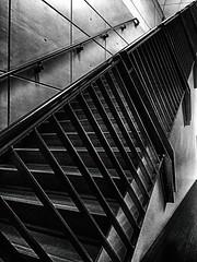 Stairway to Education (CobbydaleInCanada) Tags: school stair bannister