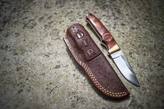 knife holster (silkfatblues) Tags: leather handmade knife sheets holster custommade leathercraft sheats