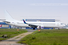 LIL - Boeing 737-8AS (OM-GTE) Go2Sky (Aro'Passion) Tags: travel photography airport photos aircraft hangar lsd landing lil service boeing hop reverse lille airlines 737 b737 lfqq lesquin 7378as aropassion go2sky omgte