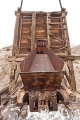 Upper ore bin and jaw crusher (Underground Explorers) Tags: california abandoned underground mine valley explorers exploration panamint