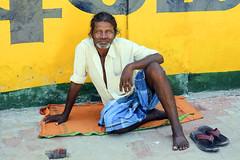Peregrino en Rameswaram (Tamil Nad-India), 2016. (Luis Miguel Surez del Ro) Tags: india tamilnadu rameswaram