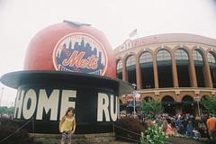 000023 () Tags: newyork film baseball olympus 24mm mets f28 mlb portra400 om1md  hzuiko  citifield autow