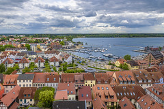Port Of Waren (Mritz) (dietmar-schwanitz) Tags: city houses sky lake water port germany deutschland see wasser harbour himmel stadt hafen lightroom huser mecklenburgvorpommern mritz waren dietmarschwanitz nikond750 nikonafsnikkor24120mmf40ged