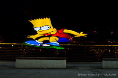 Jump (BiloraBoy) Tags: light night germany dark deutschland licht flying jump nikon nacht board bart bamberg brett franken farbe bunt dunkel fliegen d610 hpfen jrgenschick