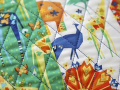 Origami Oasis quilting (Mary-and-Tobit) Tags: origami oasis patchwork cushion michaelmiller cushioncoversewing