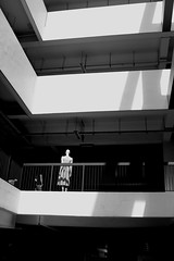 IMG_2213a (jumppoint5) Tags: life light shadow urban blackandwhite building contrast pose pattern estate hdb