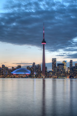 TORONTO SKYLINE SERIES (blink to click) Tags: tdot toronto ontario canada downtown landmark buildings skyscrapers highrise architecture architectural cntower tourism tourist sky tall skyline blinktoclick blink2click nikond750 night clouds skydome rogerscentre water lakeontario lake city sunset