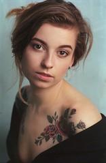Alexandra (vaskovets.andrii) Tags: nikon f100 ishootfilm filmphotography elinchrom colorfilm kodakportra400 outdoorportrait deepocta