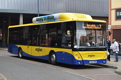 AU62 DWN (markkirk85) Tags: new man bus buses great yarmouth caetano dwn 607 ecocity anglian 12013 18270 anglianbus au62dwn au62