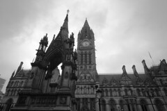 Town Hall (sfryers) Tags: tower clock ex stone architecture manchester town hall gothic victorian sigma civic neogothic dg 1224 alfredwaterhouse 14556
