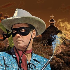The Psych Ranger (Flamenco Sun) Tags: cowboy psychedelic wildwest psych loneranger
