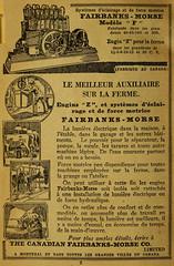 Le meilleur auxiliaire pour la ferme - The Canadian Fairbanks-Morse Co. (vieillespubs) Tags: montral 1922