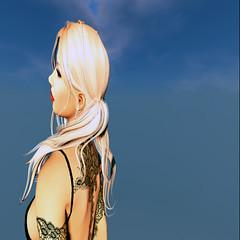 Shar - Side Shot (Shar.Shar) Tags: arty avatar secondlife