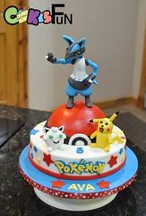 image (bsheridan1959) Tags: cake fondant lucario pokemon pikauh cartooncharacters kidscake birthday