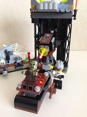 He's alive!!! (nz-brickfan) Tags: monster lego minifigs mad scientist afol frankenstien