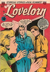 Lovelorn 48 (Michael Vance1) Tags: art artist anthology comics comicbook cartoonist woman romance relationship love lovers man marriage dating silverage