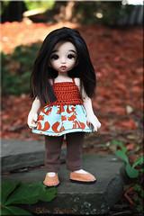 foxy girl (ban sidhe) Tags: rlf pkf hybrid realfee pukifee bonnie bjd doll fairyland fox