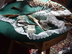 Fortress Louisbourg Nova Scotia lace making (MisterQque) Tags: novascotia lace lacemaking fortresslouisbourg frenchcolony