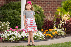 Growing Up (Rigatone1) Tags: flowers summer portrait baby cute home girl beauty children fun toddler posing tamron 70200 nikond750