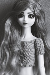 Lillian (hadley_midge) Tags: beauty kids doll dolls 14 crochet collection wig wigs lillian mystic resign