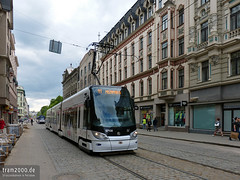 Riga (LAV) (Robert Leichsenring) Tags: latvia riga lettland латвия рига tramway tramwaj tramvaj tram strassenbahn streetcar трамвай tatra