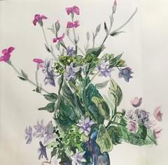 floweres (kumi matsukawa) Tags: watercolor floweres