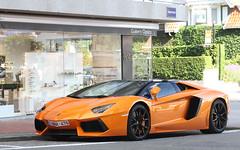 Lamborghini Aventador Roadster. (Tom Daem) Tags: knokke lp lamborghini roadster 7004 aventador