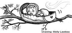 Amended Nursery Rhyme1 (Little Boffin (PeterEdin)) Tags: baby tree comedy poem cradle nurseryrhyme richarddigence mollylawless