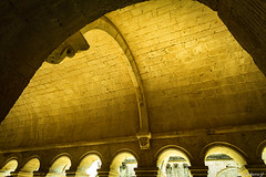 abbaye de Snanque: le cloitre (bonacherajf) Tags: abbaye snanque lubron cistrcien