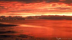 2016 - Landscape - Sunset - Largs - 02_24_08.jpg (stevenlazar) Tags: ocean sunset beach clouds waves jetty australia adelaide southaustralia largs 2016