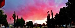 Ocaso flamgero/Flame-clouded sunset. (jerodamor@yahoo.com.mx) Tags: ocasosdetorren ocasos torren mexico