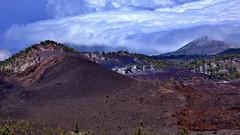 Montana Samara (flowerikka) Tags: travel sky mountain clouds spain vulcano samara islacanaria teidenp