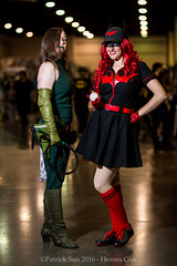 SP_45883 (Patcave) Tags: heroes con heroescon heroescon2016 2016 convention cosplay costumes cosplayers marvel dc portrait shoot shot canon 1740mm f4 lens patcave 5d3 northcarolina north carolina charlotte center indoors air conditioning madame hydra bombshell batwoman