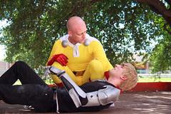 IMG_0017 (firecloak) Tags: male cosplay hero superhero cyborg opm akon genos onepunchman