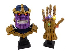 Thanos and the Infinity Gauntlet (The Deathly Halliwell) Tags: comics lego infinity marvel gauntlet thanos