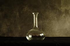 Still Life number 01 the beginning (tvdijk19) Tags: light stilllife glass bottle fuji naturallight ruc sooc xt1
