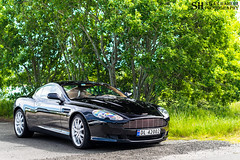 Aston Martin DB9 (Stian Hheim) Tags: auto summer cars car june norway photoshop photography 50mm photo nikon automobile photographie martin event filter parked autos af polarized supercar automobiles aston stian volante supercars nsk db9 2016 polarizingfilter polarizing d3200 hheim norsksportsvognklubb