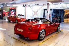 Aperta. (Reece Garside   Photography) Tags: red summer italy sun history car canon italian ferrari bologna sa rare supercar maranello 550 6d 599 spotter hypercar canon6d saaperta 599aperta