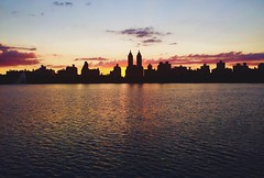 I'm a Sucker for Silhouettes. Especially silhouettes of Emery Roth's handiwork in New York. (Kociuszko) Tags: park nyc newyorkcity sunset sky cloud newyork apple colors silhouette architecture clouds roth dusk centralpark silhouettes eldorado upperwestside paintedsky cpw iphone centralparkwest emeryroth jackieoreservoir takenwithacellphone iphotography geotaggednewyork iphonography iphone6 nypostnyc