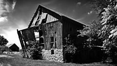 until I fall away... (BillsExplorations) Tags: old blackandwhite fall abandoned monochrome barn rural vintage ruins farm forgotten collapse discarded ruraldecay barnsandfarms ruraldeterioration abandonedillinois