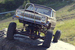 1970-s J-20_48 (My Scale Passion) Tags: old mountain scale truck vintage rocks jeep modeling body wide double retro climbing custom build scratch crawling rc wraith j20 crawler lifted styrene axial tekin scx10 myscalepassion