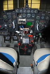 DSC_0741 (wpnsmech555) Tags: hobby airport museum lodestar aircraft cockpit