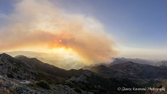Cyprus on fire (stavros karamanis Photography) Tags: mountains nature clouds forest canon landscape fire outdoor pano ngc cyprus panoramic tokina f28 hilltop troodos landscapephotography canonphotography madari 1116mm dxii michael3con
