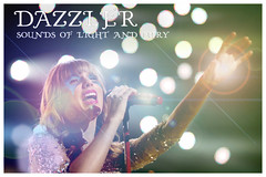 "Dazzler ""Sounds of light and fury"" live poster (eXXXio) Tags: dazzler xmen soundsoflightandfury taylorswift poster live"