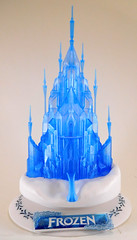 "I Ran Out of ""Let It Go"" Lines a Long Time Ago... (largo621) Tags: model kit bandai frozen castlecraft ice palace elsa disney"