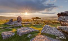 Combe Solstice (www.neilporterphotography.com) Tags: rock devon tor dartmoor combestone