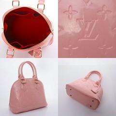 Import @250 Bag LV Alma 25x13x20cm Glossy Embos #Vernish#SemiPremium#Apricot#Black#Pink#Red#RedWine (merboutique) Tags: pink red black apricot redwine vernish semipremium