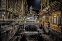 Fontana dell'Amenano Catania (mcalma68) Tags: urban water night cityscape sicily catania